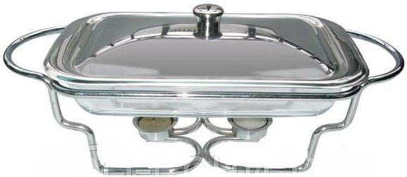 Стеклянный мармит 1,6л ( Блюдо ) с мет.крышкой Bohmann 2000 ВН
