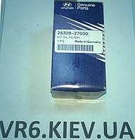 Фильтр масляный KIA Magentis, Sportage 26320-27000, фото 1