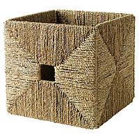 ✅ IKEA KNIPSA (201.105.40) Корзина, морская трава