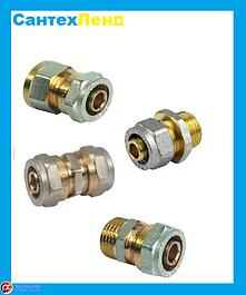 Соединительные муфты для металлопластиковых труб