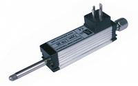 Короткоходовой потенциометрический датчик линейных перемещений с возвратной пружиной