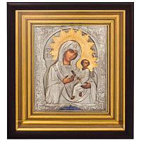 Икона с позолотой Богоматерь Тихвинская, фото 1
