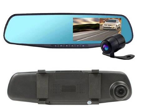 Видеорегистратор Зеркало на 2 камеры Car DVR MirrorFull HD 1080, фото 2