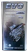 Моторное масло полусинтетика Evo (Эво) Turbo Diesel 10w40 5л