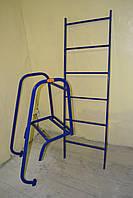Лестница наклонная с перилами, фото 1