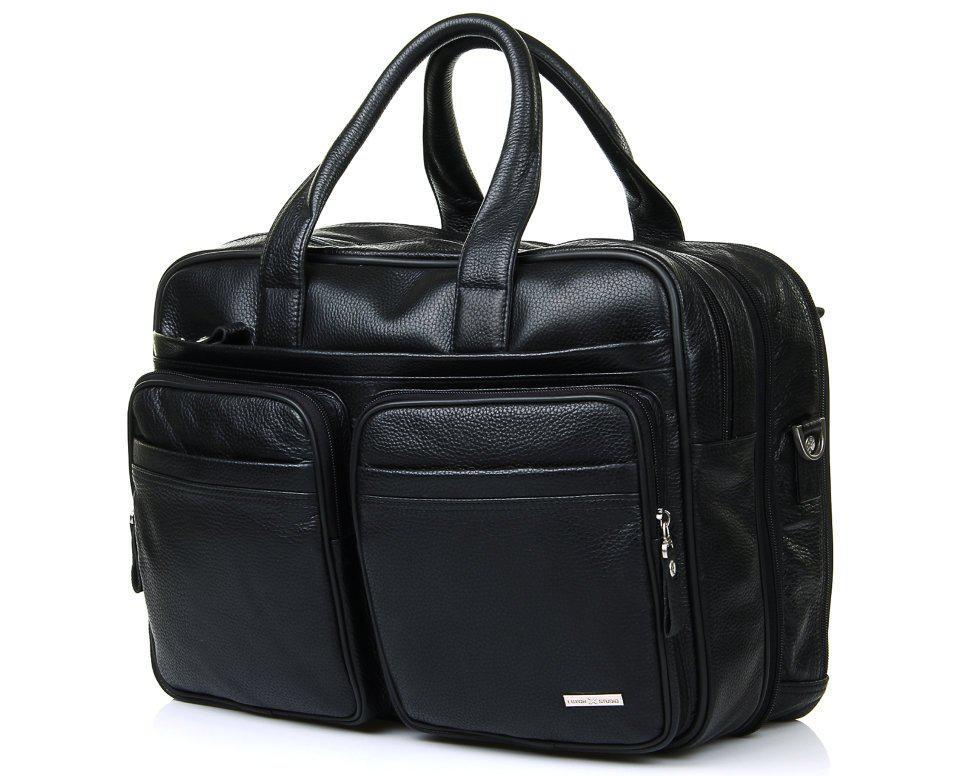 Кожаная дорожная сумка Luxon LUXON 228-4