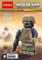 Лего минифигурка военного MODERN WAR