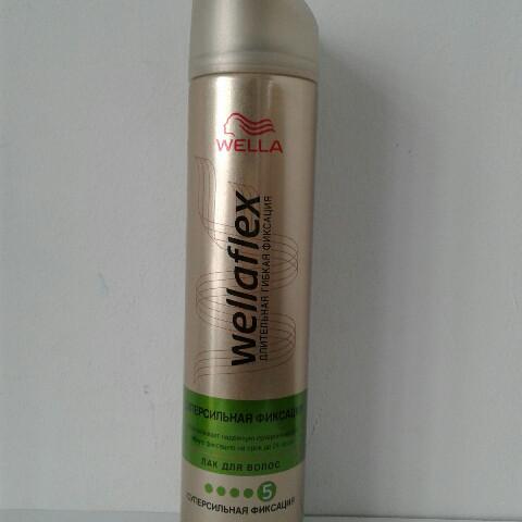 Лак для волос Wellaflex 250 мл. (Велла Флекс суперсильной фиксации зеленый №5 )