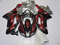 Пластик для мотоцикла Kawasaki ZX6R 07-08 Red Flame