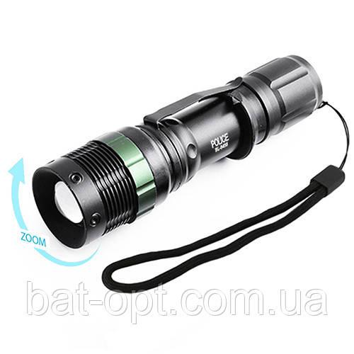 Фонарь Police BL-8455A-XPE zoom (1xAAA) 13.2см