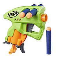 NERF Бластер N-Strike Нано Фаер NanoFire (Зеленый) E0667