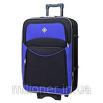 Комплект чемодан + кейс Bonro Style (небольшой) черно-фиолетовый, фото 3