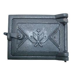 Двері чавунна ревізійна Вишиванка (160х120)