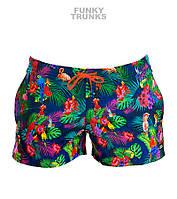 Распродажа! Короткие пляжные шорты Funky Trunks Tropic Team FT40