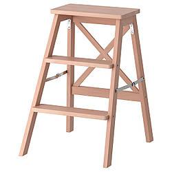 ✅ IKEA BEKVAM (901.904.11) Лестница, 3 ступени, бук