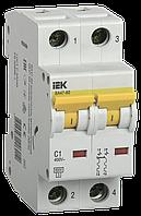Автоматический выключатель ВА 47-60 2Р 3А 6 кА С IEК, фото 1