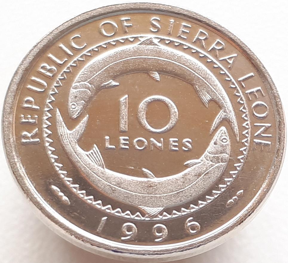Сьєрра-Леоне 10 леоне 1996