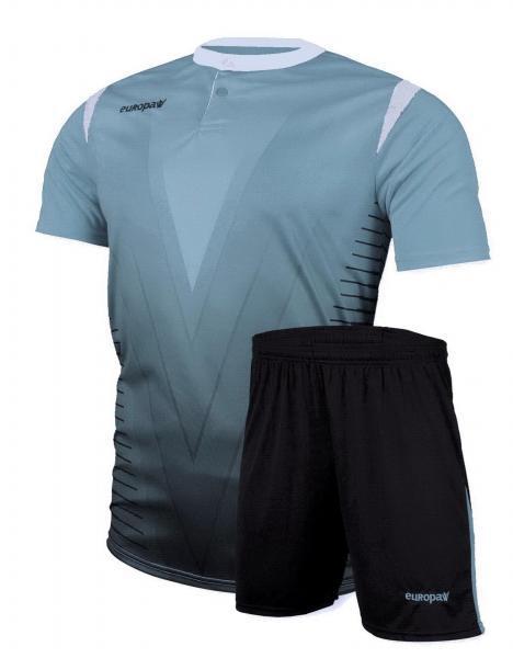 Футбольная форма Europaw (голубая) 011
