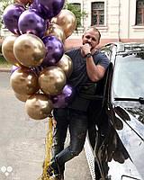 Гелиевые шары Хром , фото 1