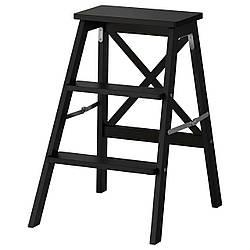 ✅ IKEA BEKVAM (902.198.29) Лестница, 3 ступени, черный