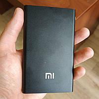 Портативная зарядка Павер банк Mi внешний аккумулятор Xiaomi Power Bank 12800 мАч тонкий черный