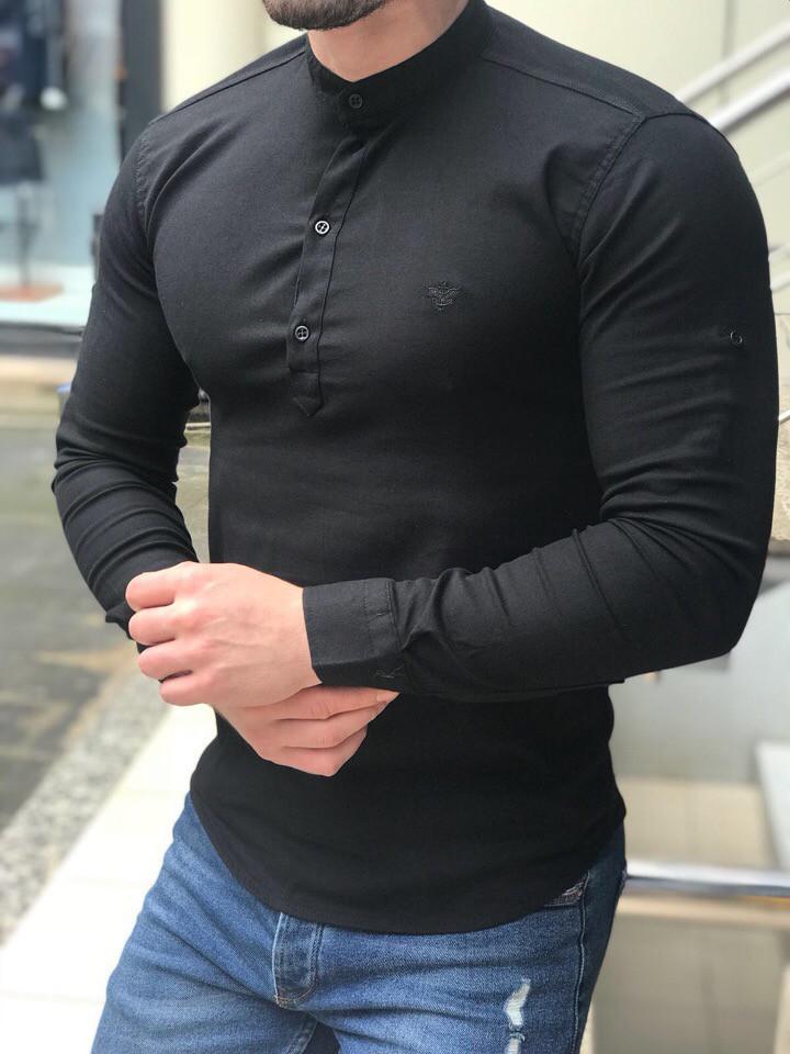 98f0fe92259 Рубашка мужская Без воротника