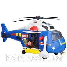 Вертолет Служба спасения свет звук Dickie 3308356