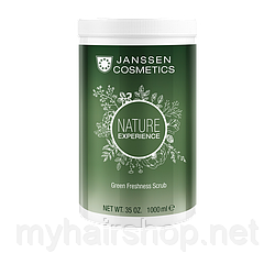 Обновляющий скраб с торфом JANSSEN Green Freshness Scrub 1000 мл