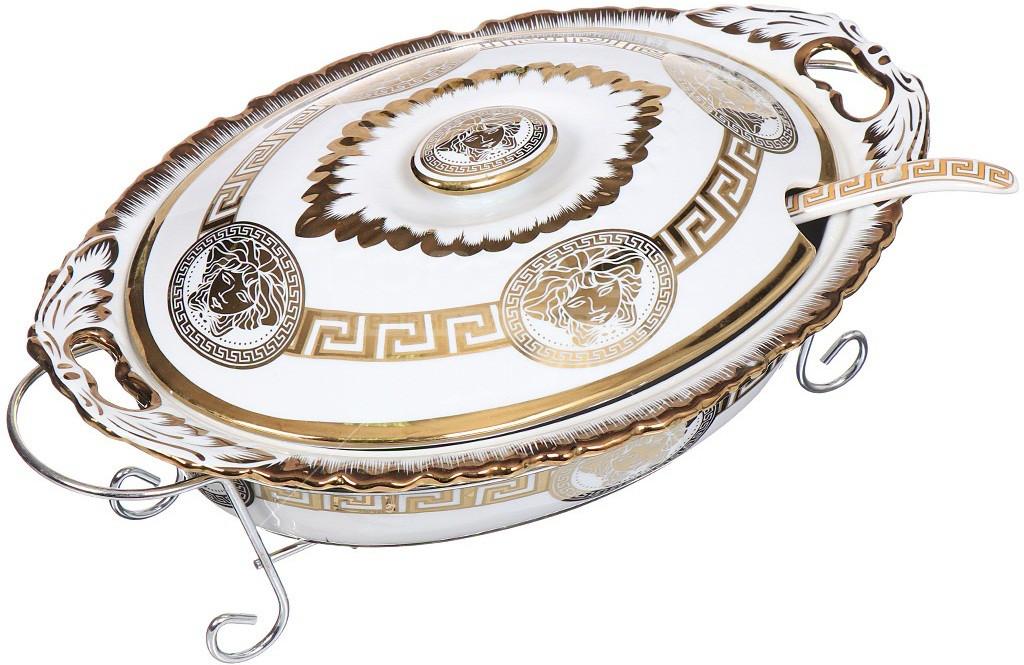 Керамичный мармит овальный ( Кастрюля ) 2,5л Madonna MA 1139