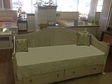 Дерев'яне ліжко Прованс-9, фото 3