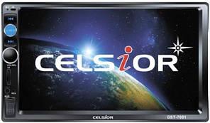 """Двухдиновый мультимедийный центр с 7"""" TFT сенсорным дисплеем  Celsior CST-7001"""