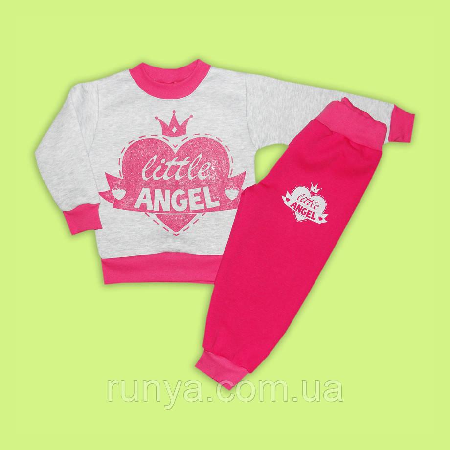 Теплый детский костюм для девочки  Little Angel  - Интернет-магазин детской  одежды