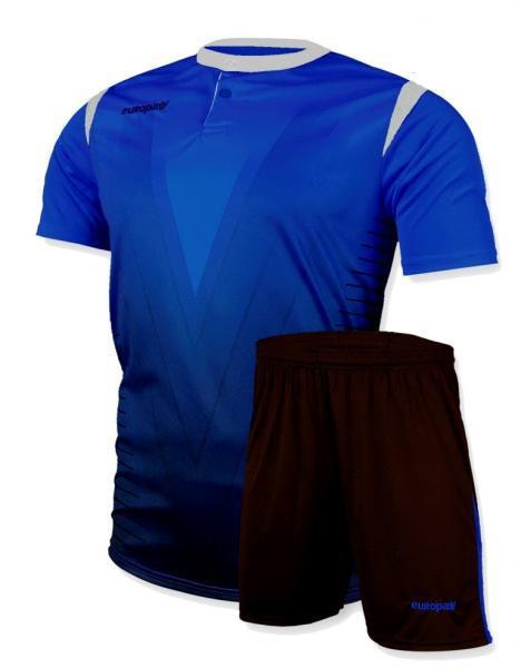 Футбольная форма Europaw (синяя) 011