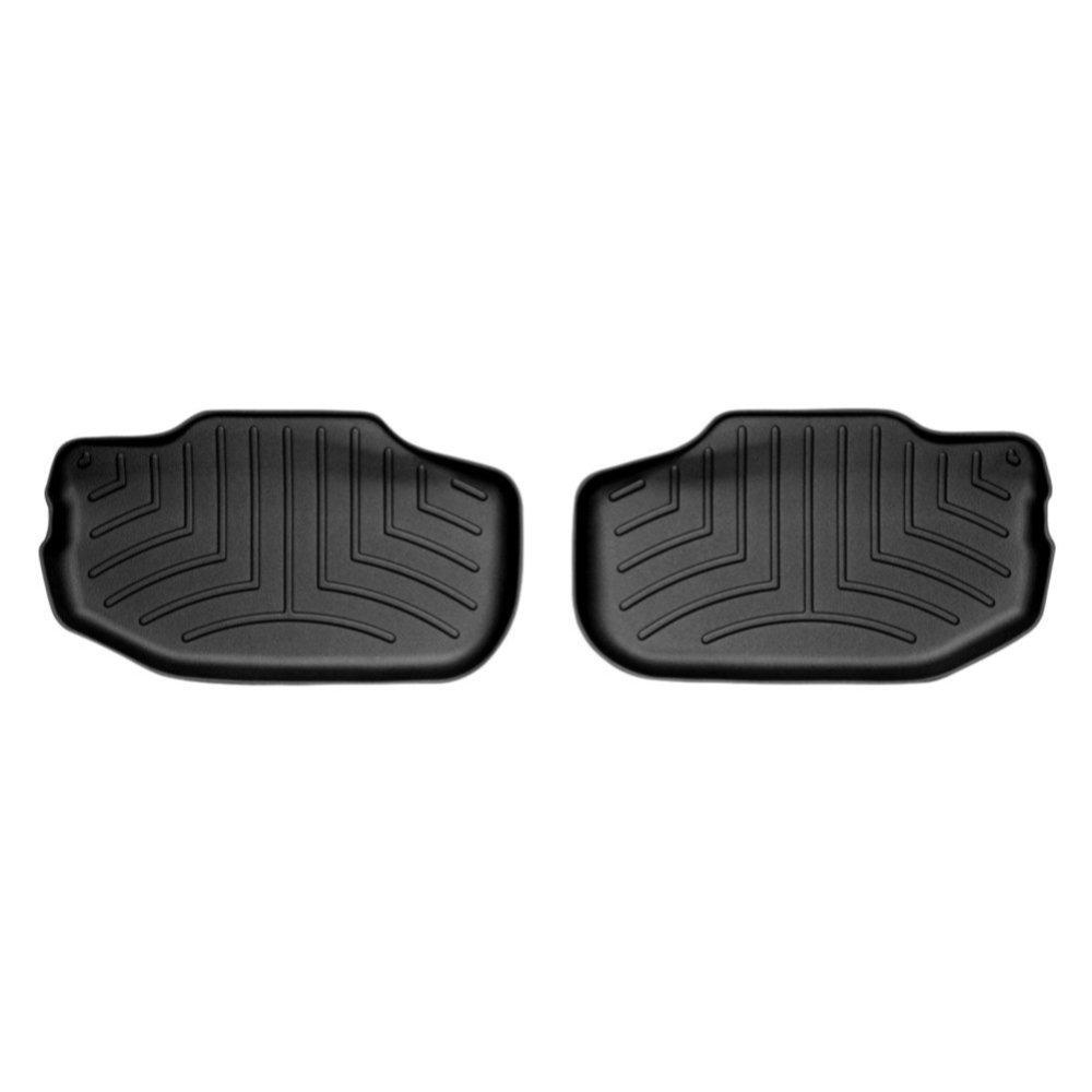 До/з Chevrolet Camaro килимки салону в салон на CHEVROLET Шевроле Camaro 2008-12 з бортиком задні, чорні