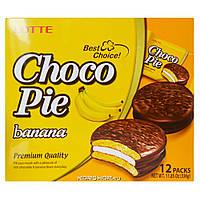 Печенье  Choco Pie банан 12 шт