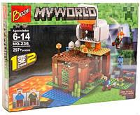 Конструктор Minecraft Курятник 236