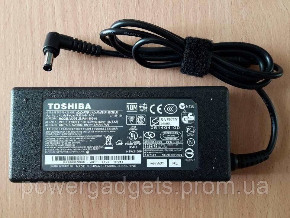 "Блок питания Toshiba 19V 4.74A 5.5х2.5мм"""