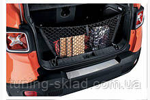 Хром накладка на задний бампер Jeep Renegade (Джип Ренегат)