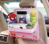Столик - органайзер в автомобиль Розовый (04159), фото 1