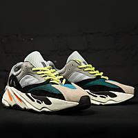 """Adidas Yeezy Boost 700 """"Wave Runner"""" Grey (реплика)"""