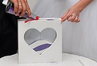 """Рамка-Сосуд """"Сердце"""" для свадебной песочной церемонии ручная работа, Сумы"""