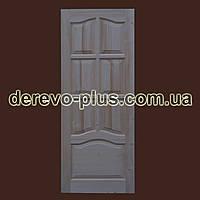 Двері з масиву дерева 80см (глухі) f_1180
