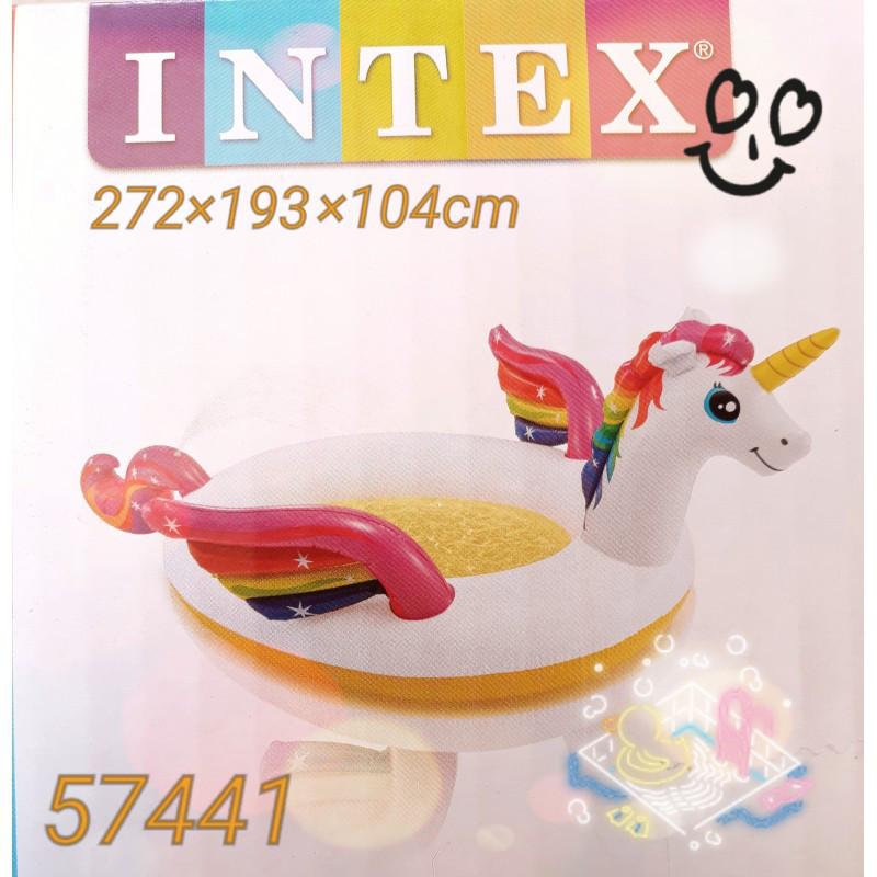 Детский надувной центр бассейн Intex 57441 «Единорог» , 272 х 193 х 104 см