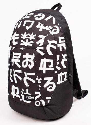Рюкзак UrbanPlanet чёрный