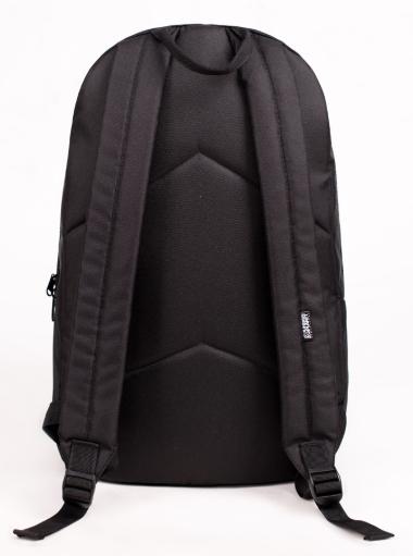 Рюкзак UrbanPlanet чёрный сзади