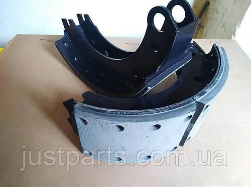 Колодка тормозная передняя КамаЗ Евро-1 53205-3501090 (Автомат)