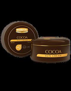 Крем для безпечної засмаги Sora Cosmetics Bebak з екстрактом какао SPF 2 100 мл (4315007)