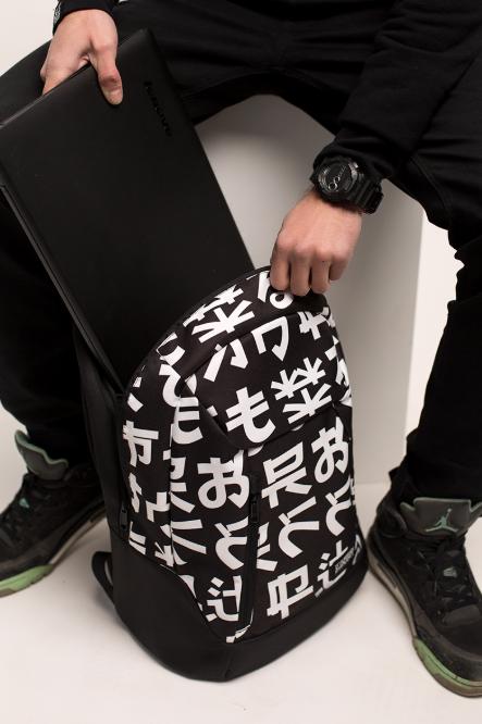 Рюкзак Urban Planet чёрный мужской