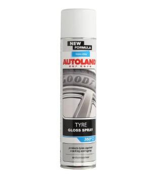 Спрей очиститель для шин  AUTOLAND BLAG 600мл