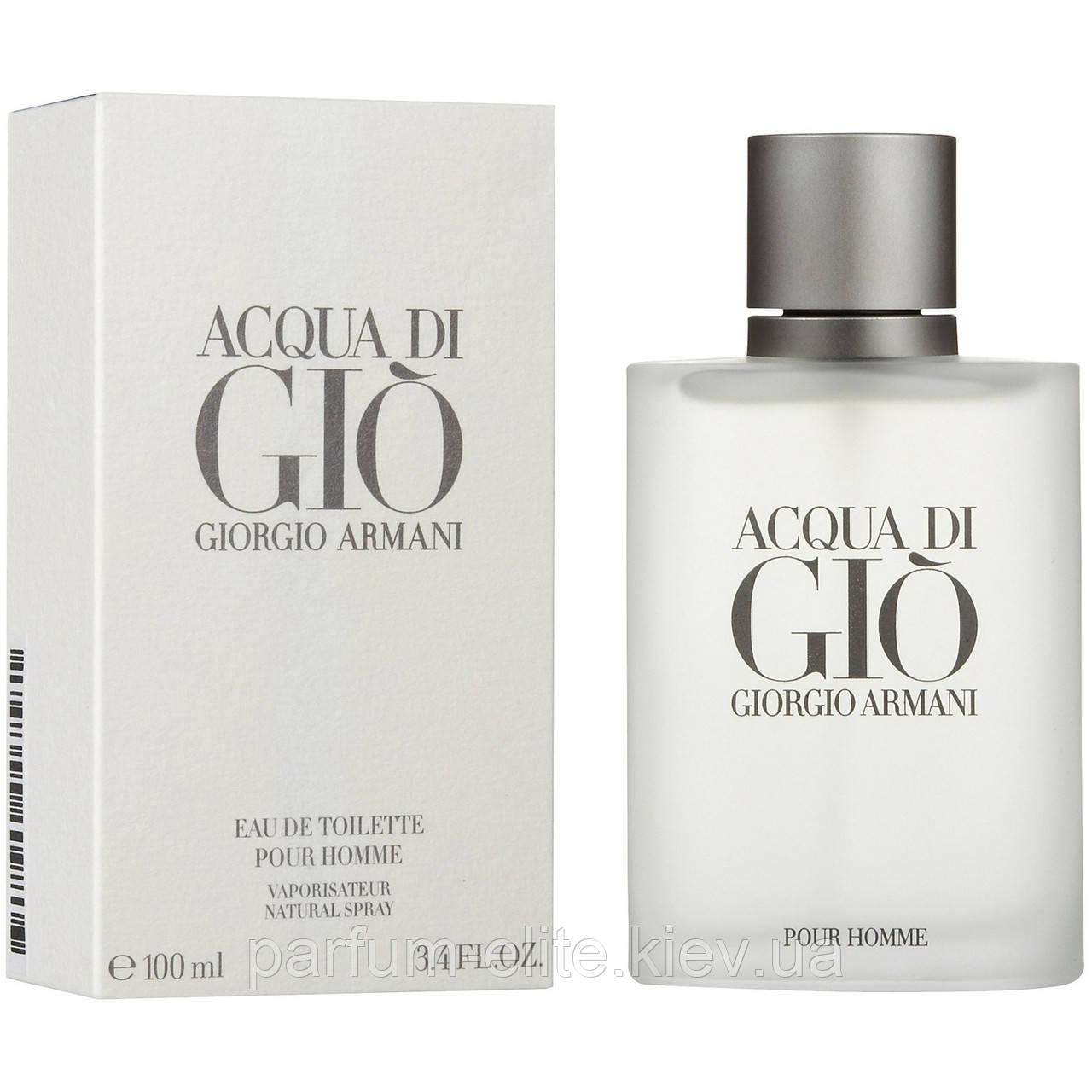 Мужская туалетная вода Giorgio Armani Acqua Di Gio 50ml - Интернет-Магазин